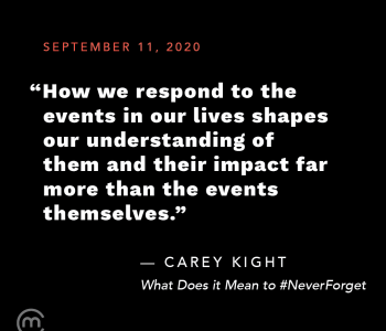 What Does it Mean to #NeverForget